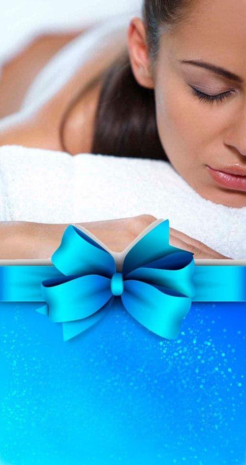 Фото массаж в подарок